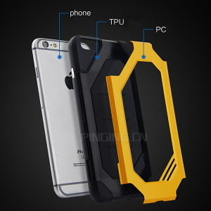 Hybrid Durable Slim Armor Case for iPhone 6 and 6s pictures & photos