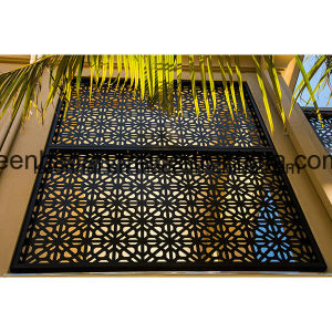 Laser Cut Decorative Aluminum Perforated Wall Panel for Facade pictures & photos