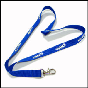 Pantone Color Dye Sublimated/Thermal Transfer Logo Custom Lanyard for Factory pictures & photos