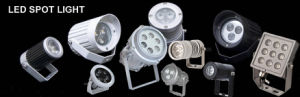 9W LED Spot Light with Black or Silver Color pictures & photos