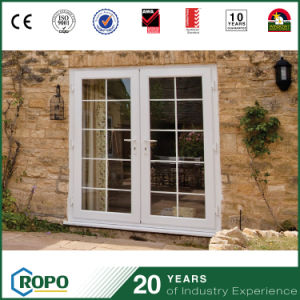 Latest House PVC Profile Casement Door Grill Design Custom Doors pictures & photos