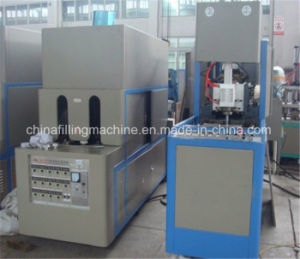 Semi-Automatic Pet Bottle Blow Moulding Machine with Ce pictures & photos