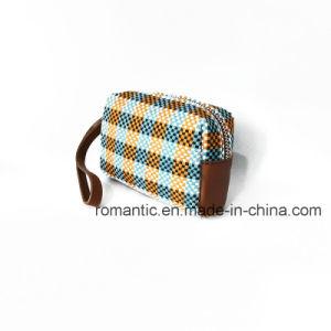 2017 Fancy Style Canvas Lady Handbags Women Woven Clutch Hand Bag (NMDK-032202)