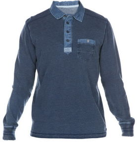 2017 New Design Custom Men Cotton Fashion Longer Sleeve Garment Washing Polo Shirts Clothing (S8241)