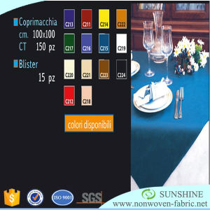 PP Cambrelle Nonwoven for Table Cloth pictures & photos