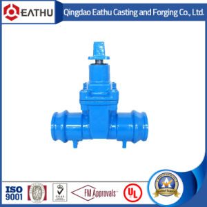 Grooved End Ductile Iron Water Gate Valve pictures & photos