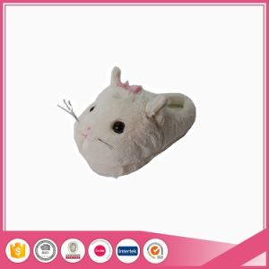 Fuzzy Cat Animal Lady Indoor Fancy Novelty Slippers pictures & photos