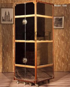 Antique Leather Wine Cabinet Decorative Wine Cabinet Antique Wine Bar Cabinet pictures & photos