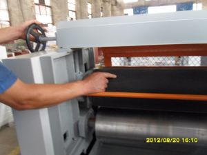 Woodworking Machinery Glue Coating Machine pictures & photos