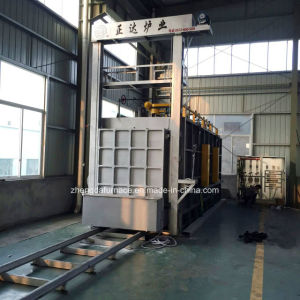 Full Fiber Trolley Type Resistance Heat Treatment Furnace pictures & photos