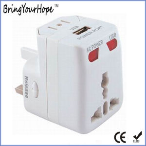 Single USB Port AC Power Travel Charger Adapter (XH-UC-039) pictures & photos