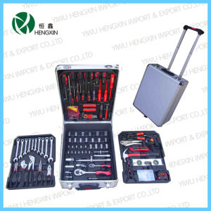 2017 Professional Aluminum Trolley Tool Train Case Products pictures & photos