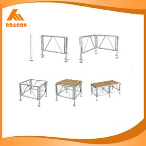 Portable Stage Platform Stage Aluminum Wooden Topping Stage pictures & photos
