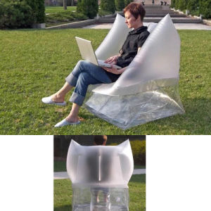New Design PVC Inflatable Outdoor Garden Chair pictures & photos