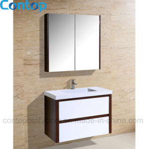 Modern Home Solid Wood Bathroom Cabinet 032 pictures & photos