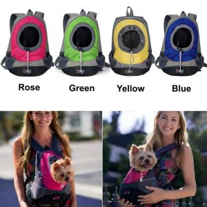 Mesh Dog/Cat Front Carrier Travel Outdoor Pet Bag Backpack pictures & photos