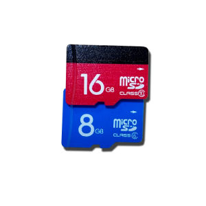 Colorful Blue Micro SD Card (U-C001) pictures & photos