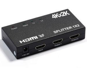 1X2 HDMI Splitter Support 4k*2k pictures & photos