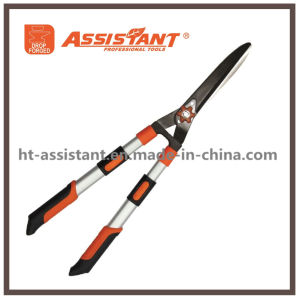 Pruning Shear Extendable Aluminum Handle Hedge Shears with Wavy Blade pictures & photos