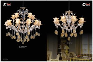 fashion and Hot Sale Colored Glaze Chandelier Light pictures & photos