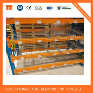 Steel Shelving Pallet Racking Used Wire Mesh Decking pictures & photos