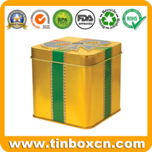 Square Metal Gift Box for Promotion, Gift Tin Box pictures & photos