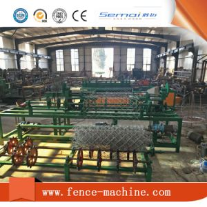 Diamond Wire Mesh Weaving Machinery Manufacture pictures & photos