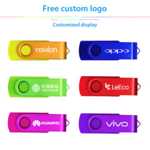 Free Customize Logo USB 2.0 Flash Drive, Fashion Multicolors pictures & photos