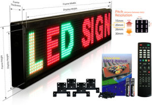Scrolling Display LED Moving Text Sign pictures & photos