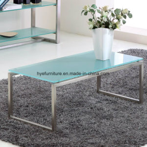 Living Room Coffee Table/Side Table Glass Furniture (M124) pictures & photos