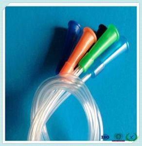 Fr14-Fr20 Disposable Medical Grade Feeding Catheter of Hospital Device pictures & photos