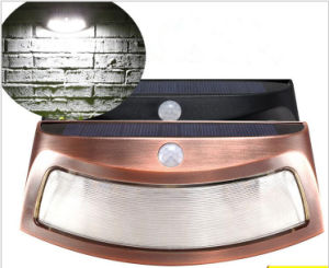 PIR Motion Sensor Solar Smiling Wall Lamp, Waterproof Garden Lamp pictures & photos