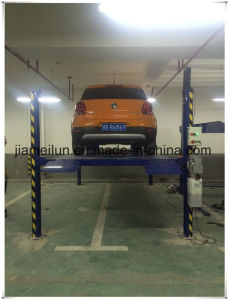 Approved Ce Parking Four Post Parking Lift pictures & photos