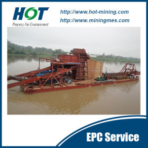 Bucket Chain Sand Dredger pictures & photos