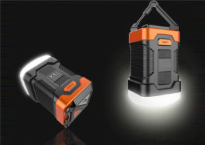 Nice Design 2 in 1 Waterproof Camping Lantern & Rechargeable Power Bank Combo pictures & photos