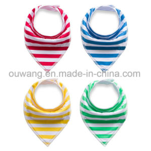Wholesale Popular Eco-Friendly Baby Bandana Drool Bibs pictures & photos