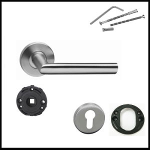 Jiangmen Manufacurer Stainless Steel Door Lever Handle pictures & photos