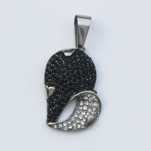 High Quality CZ Stones Jewelry 316L Stainless Steel Pendant pictures & photos