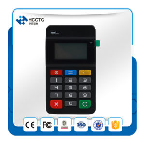 Mpos Magnetic Card Reader NFC&IC Chip Card Reader with Keypad --Hty711 pictures & photos