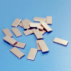 Nickel Coated Countersunk Shaped Sintering NdFeB Magnet pictures & photos
