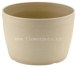 Round Plastic Flower Pot (KD7603) pictures & photos