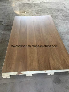 Deep Smoked (fumed) Oil Oak Engineered Flooring pictures & photos