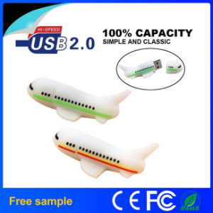 3D Custom PVC Airplane & Aircraft Shape USB Flash Drive pictures & photos