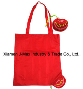 Eco Foldable Shopping Bag, Fruits Tomato Style, Gifts, Promotion, Tote pictures & photos