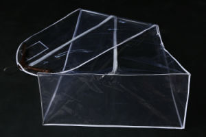 PU Plastic Transparent Dress Storage Dust Proof Cover Bag pictures & photos