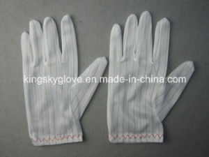 Anti-Static Light Weight Cotton Work Glove-2140 pictures & photos