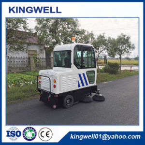 Electric Industrial Warehouse Cleaning Machine/Street Sweeper/Road Sweeper (KW-1900F) pictures & photos