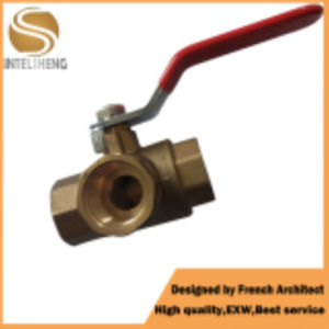 3 Way Ball Valve with Thread Size for Pipe pictures & photos
