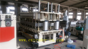 ISO Quality Guatantee PP/PE/PC Hollow Sheet/Grid Sheet Extrusion Line pictures & photos