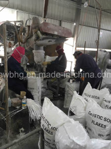 Caustic Soda Flakes Used on Detergent Soap Factory pictures & photos